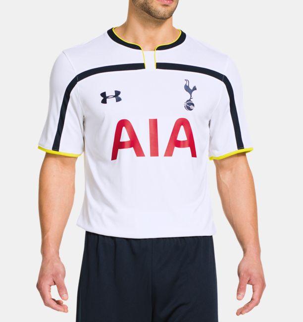 Conciencia Subtropical Maletín  Men's Tottenham Hotspur 14/15 Home Replica Short Sleeve Shirt | Under Armour  US