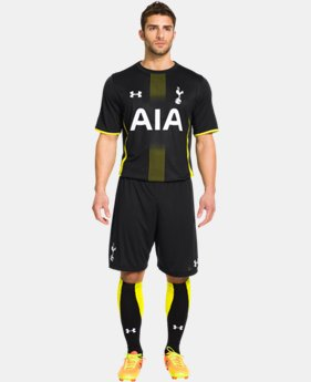 Men's Tottenham Hotspur 14/15 Away Replica Short Sleeve Shirt   $48.74