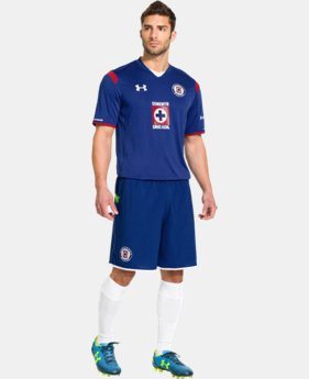 Men's Cruz Azul 14/15 Replica Short Sleeve Shirt