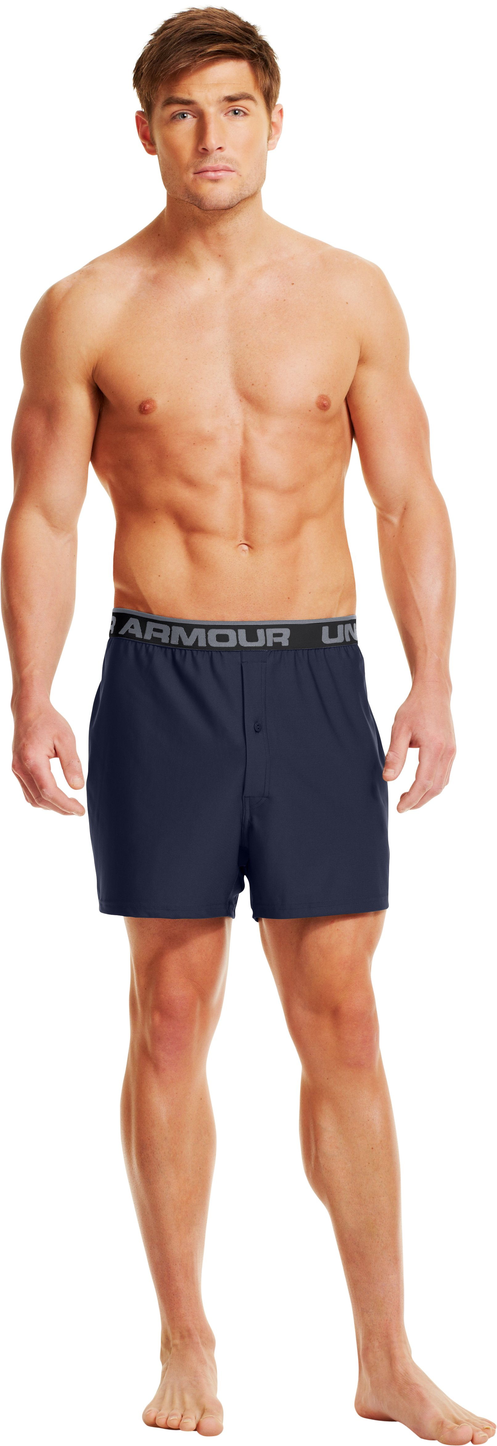 Men's UA Original Series Boxers, Midnight Navy