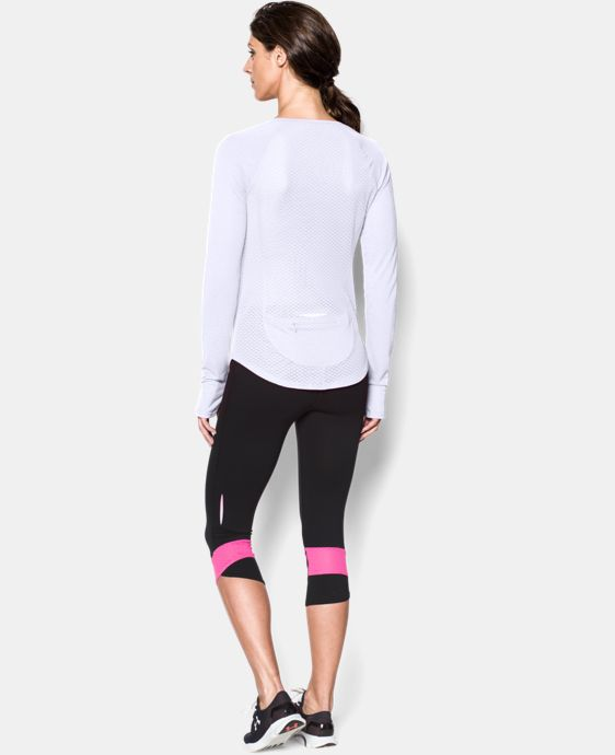 Women's UA Fly-By Long Sleeve LIMITED TIME: FREE U.S. SHIPPING 6 Colors $29.99