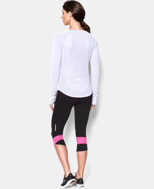 Women's UA Fly-By Long Sleeve LIMITED TIME: FREE U.S. SHIPPING 1 Color $29.99
