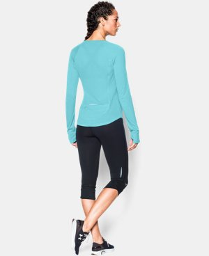 Women's UA Fly-By Long Sleeve  1 Color $29.99