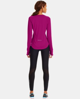 Women's UA Fly-By Long Sleeve LIMITED TIME: FREE U.S. SHIPPING 2 Colors $29.99