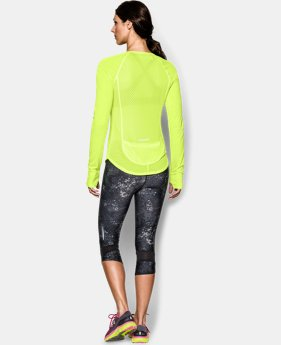 Women's UA Fly-By Long Sleeve  1 Color $23.99