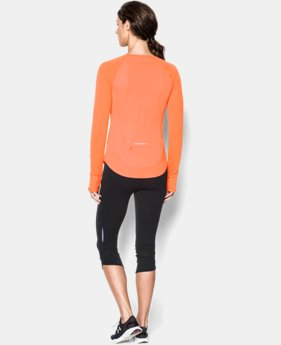 Women's UA Fly-By Long Sleeve  3 Colors $22.49