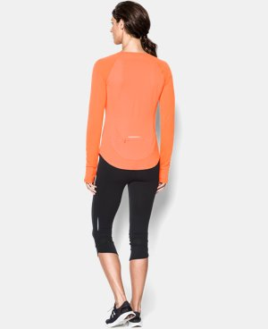 Women's UA Fly-By Long Sleeve  2 Colors $22.49