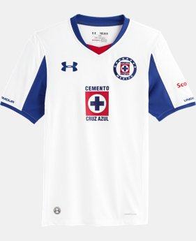 Boys' Cruz Azul 14/15 Replica Short Sleeve Shirt