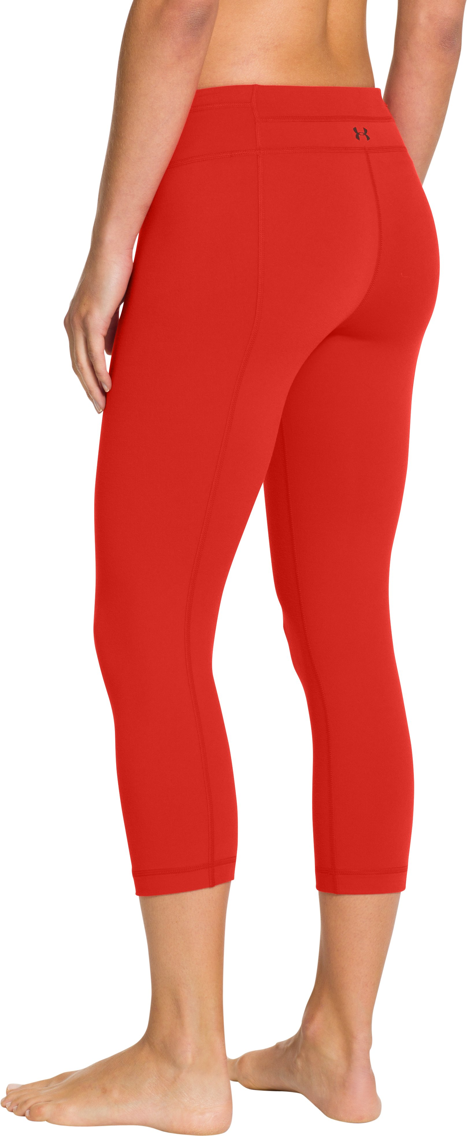 Women's UA StudioLux® Tight Capri, Fuego