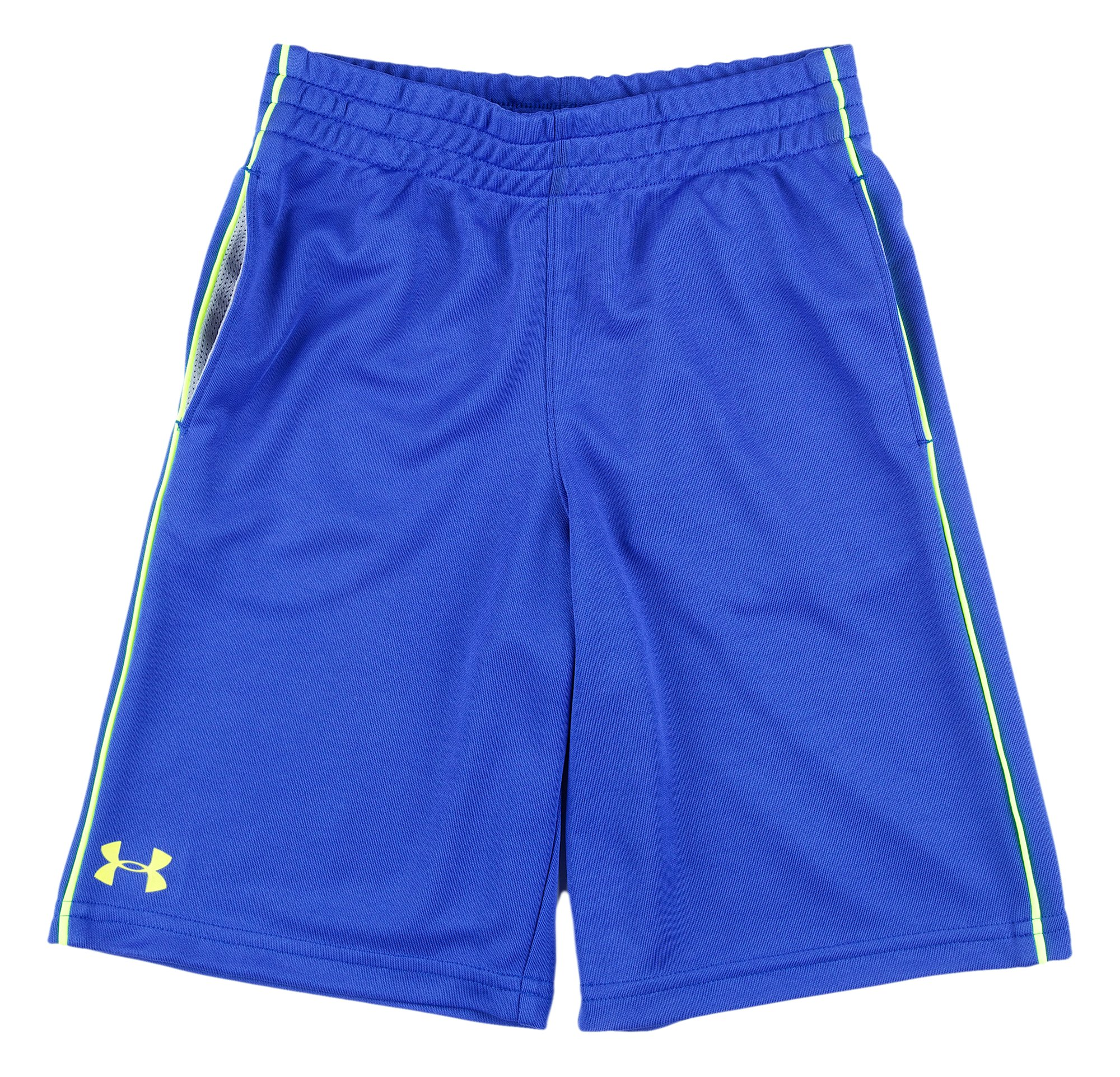 Boys' Pre-School UA Zinger Shorts, Royal, Laydown