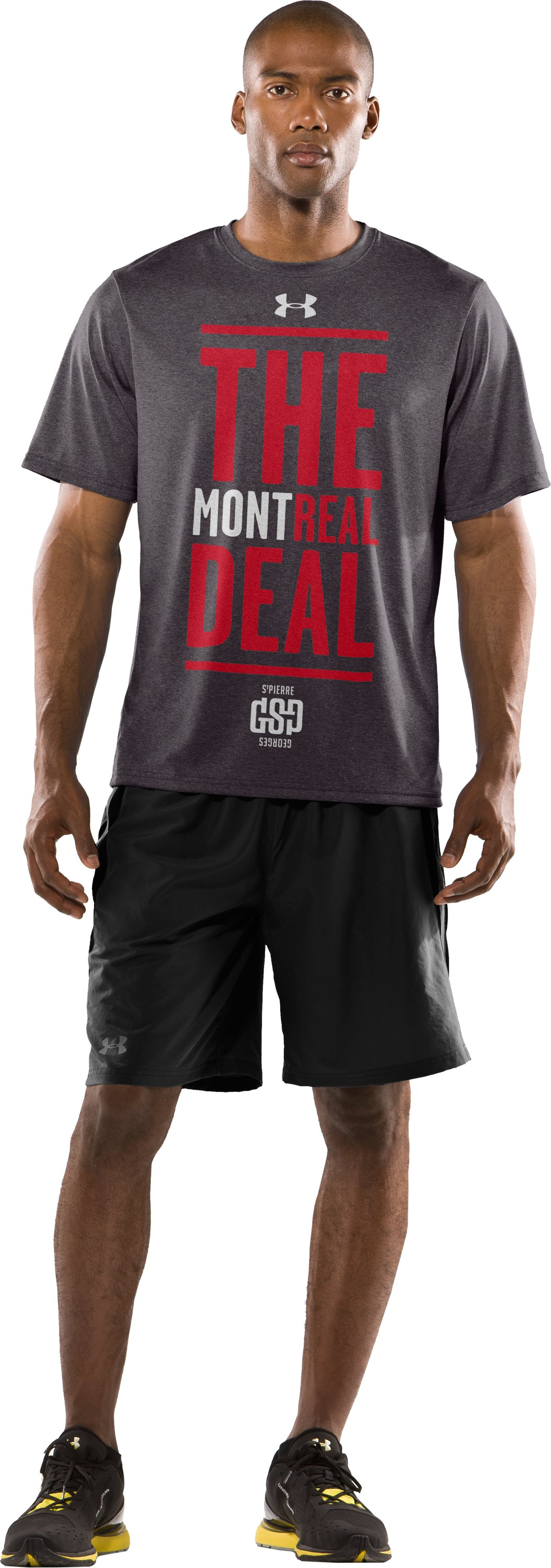 Men's GSP MontREAL T-Shirt, Carbon Heather