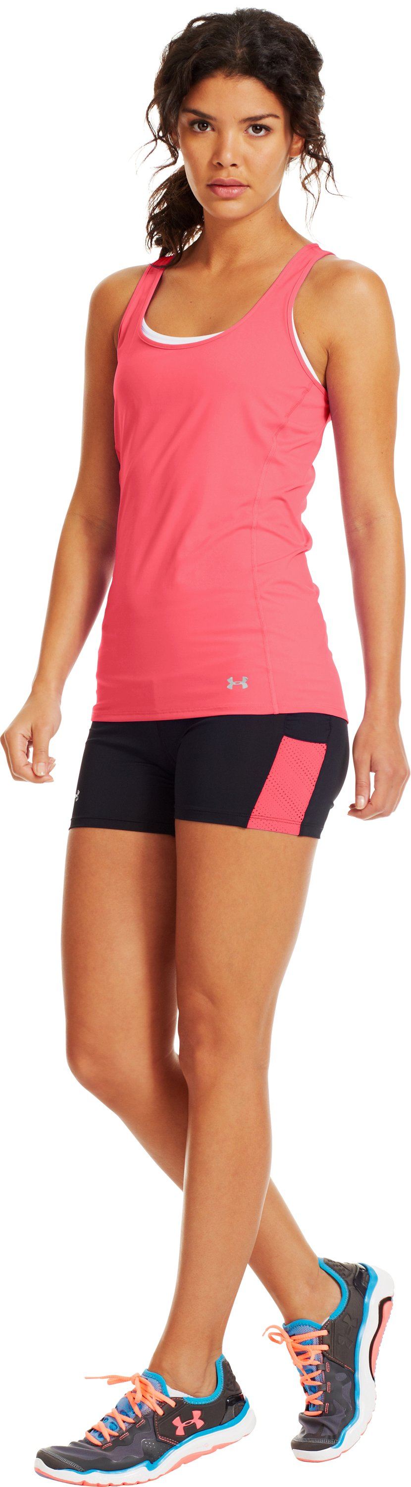 Women's HeatGear® ArmourVent™ Tank, BRILLIANCE, Front