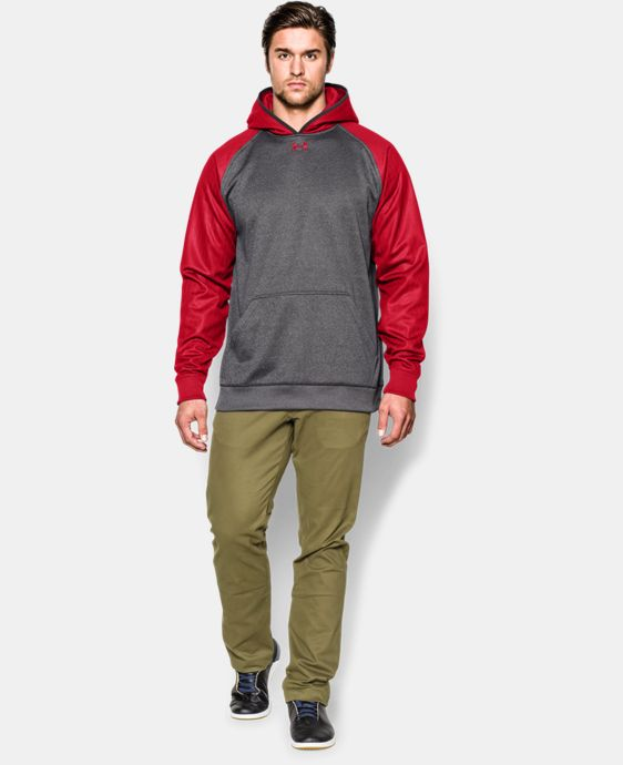 Men's UA Storm Armour® Fleece Team Hoodie  5 Colors $42.74