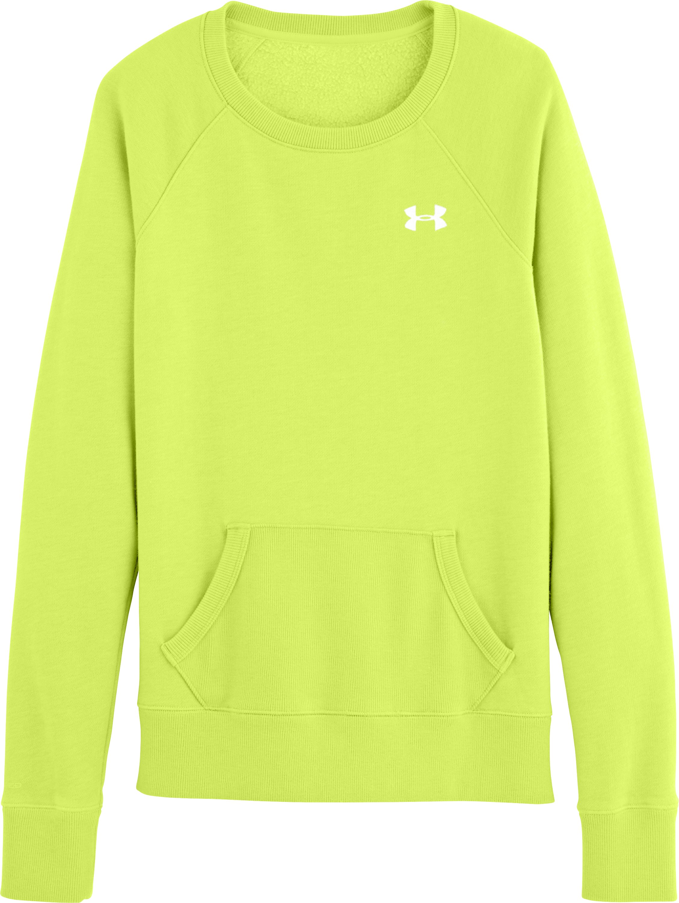 Women's Charged Cotton® Legacy Fleece Crew, X-Ray, Laydown