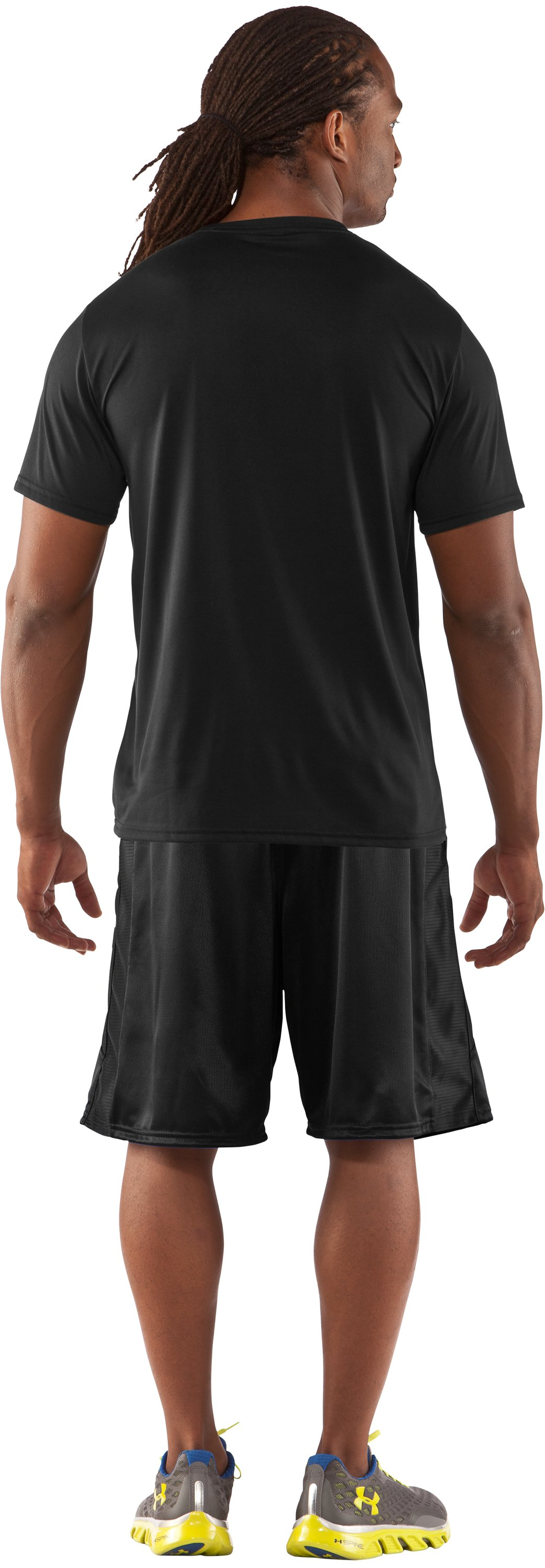 Men's UA BPBO T-Shirt, Black , Back