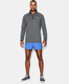 Men's UA HeatGear® Flyweight Run ¼ Zip
