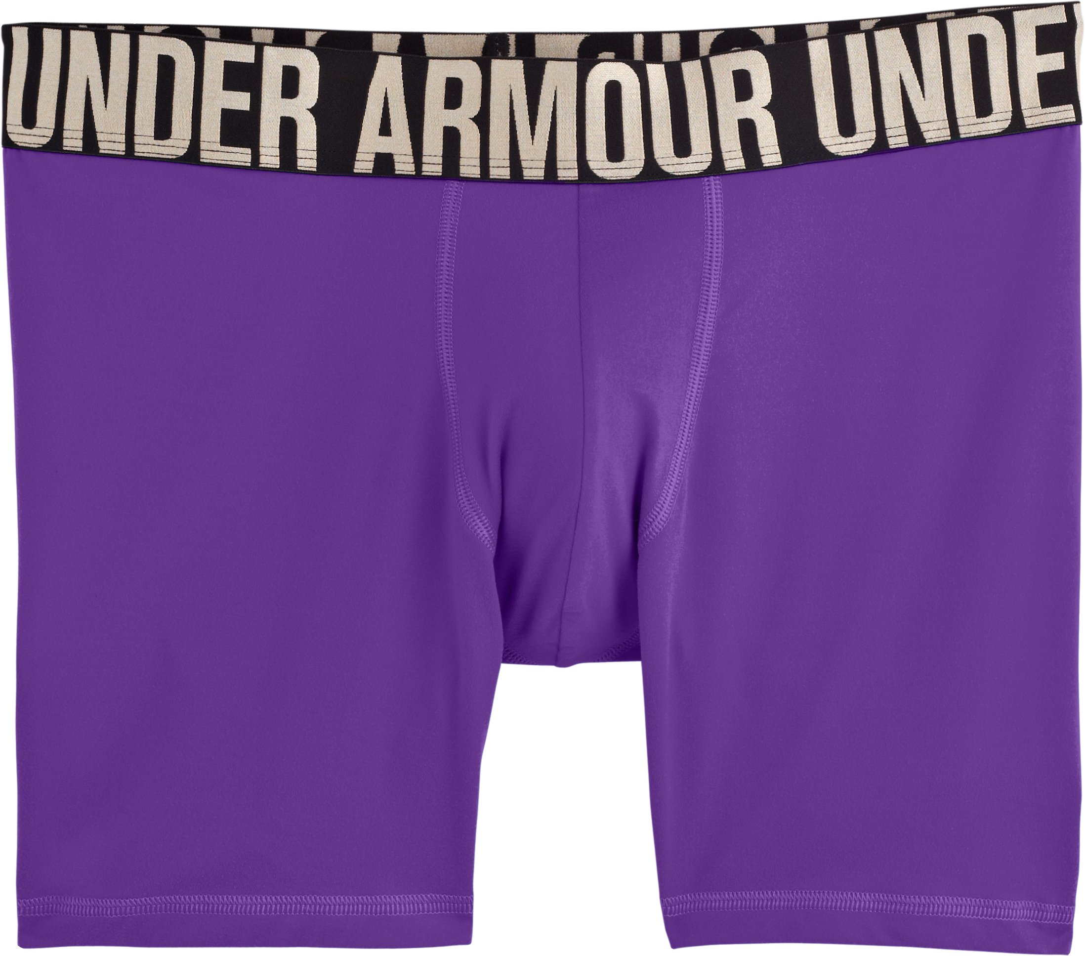 "Men's UA Elite 6"" Boxerjock® Boxer Briefs, PRIDE, Laydown"