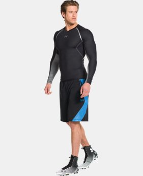 Men's UA HeatGear® ArmourVent™ Hydratack Long Sleeve Compression Shirt