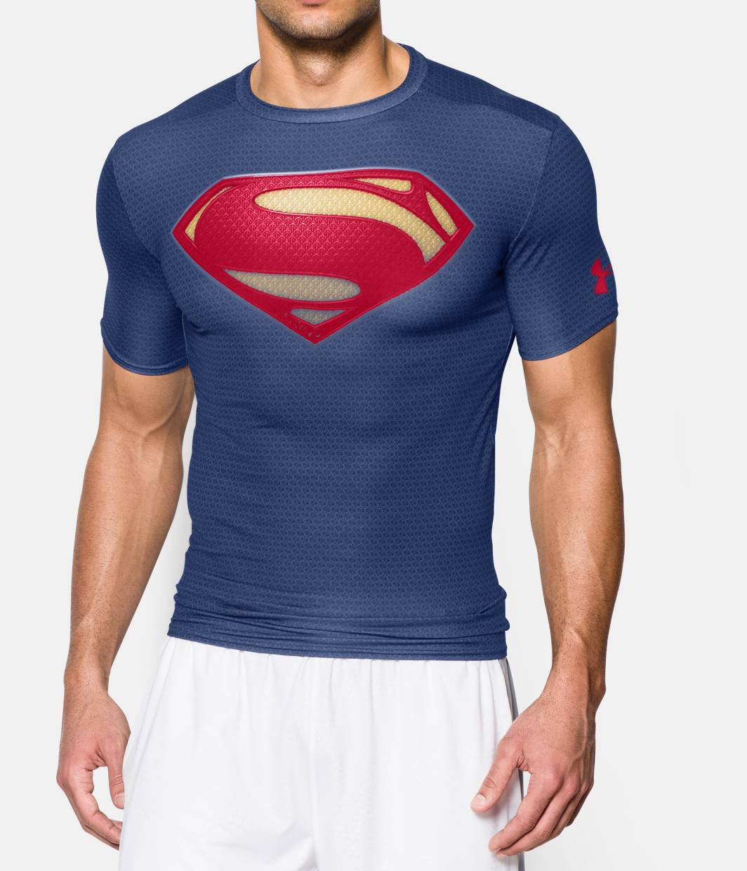 Men s under armour alter ego short sleeve compression for Under armour i will shirt