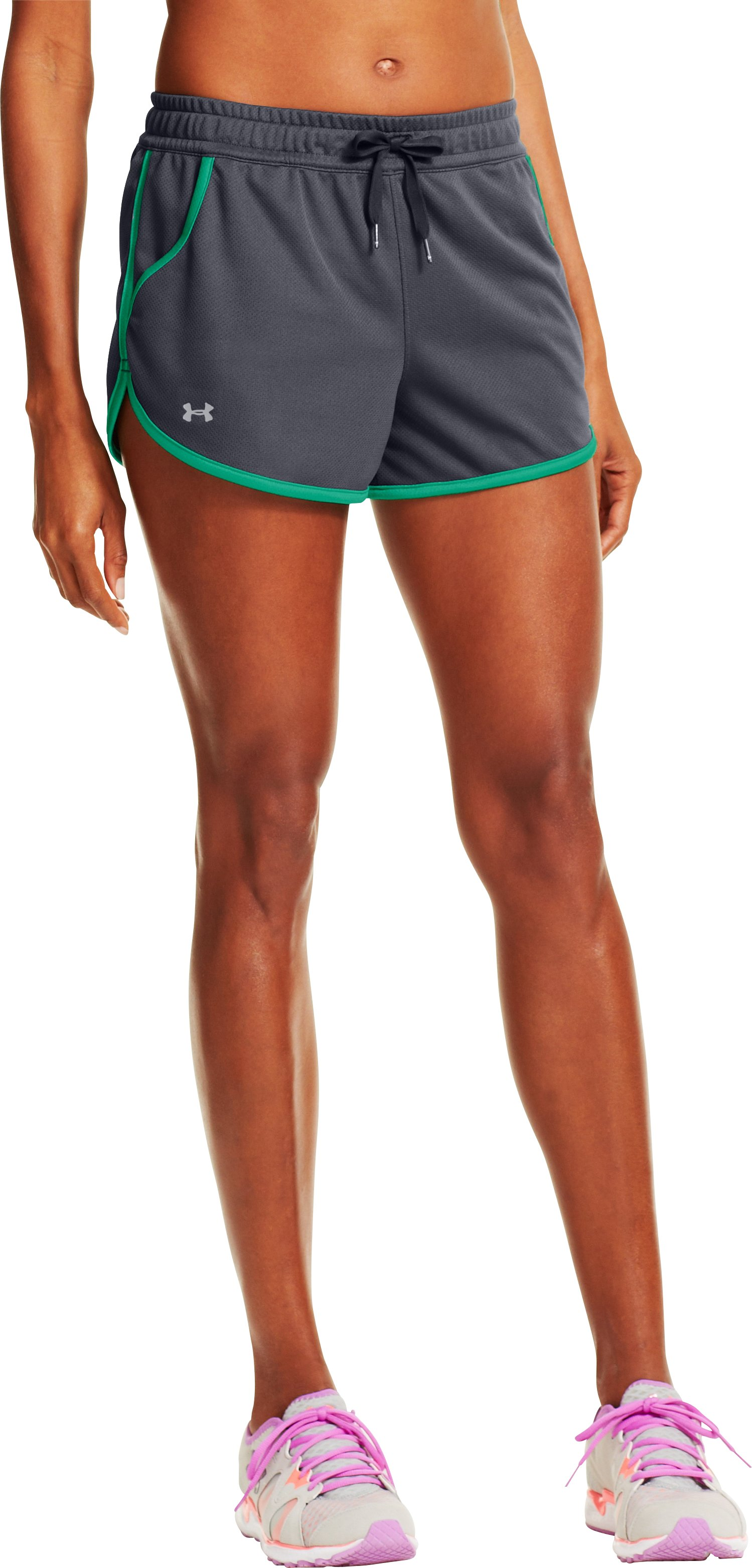 Women's UA Rally Shorts, Lead, zoomed image