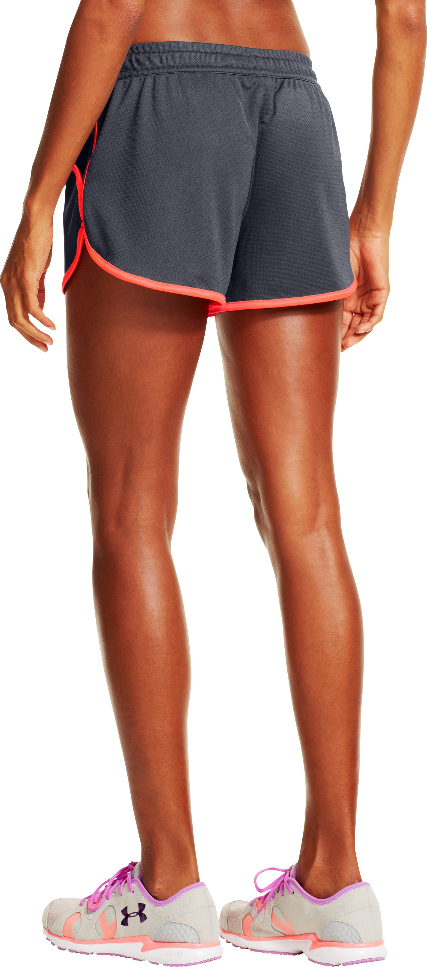 Women's UA Rally Shorts, Lead, undefined