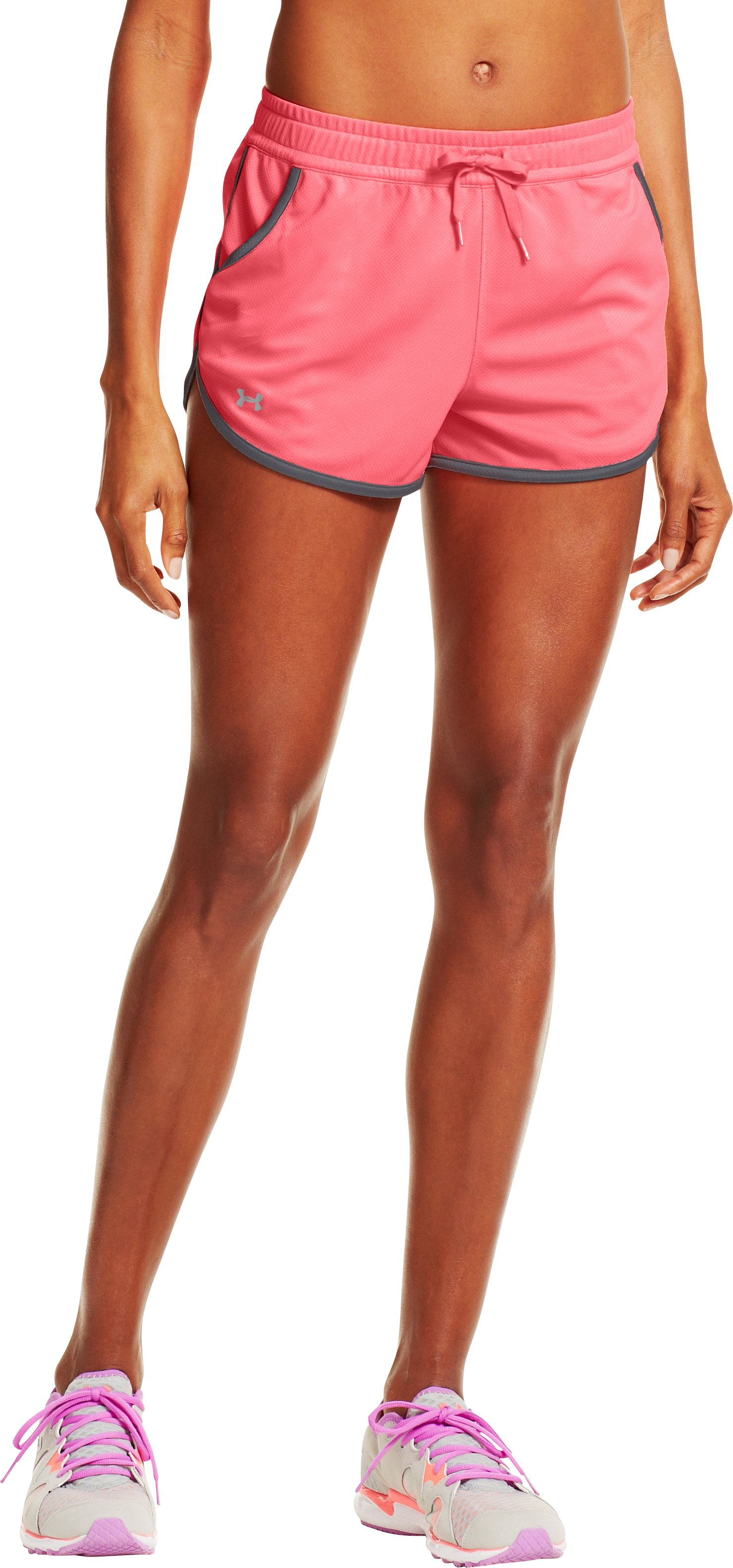 Women's UA Rally Shorts, BRILLIANCE, zoomed image