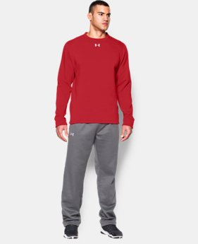 New Arrival  Men's UA Rival Fleece Team Crew LIMITED TIME: FREE SHIPPING 1 Color $44.99