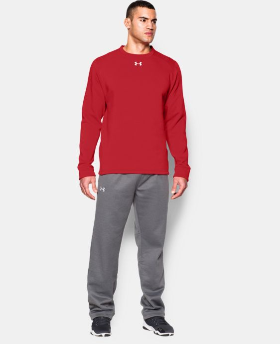 Men's UA Rival Fleece Team Crew  1 Color $44.99