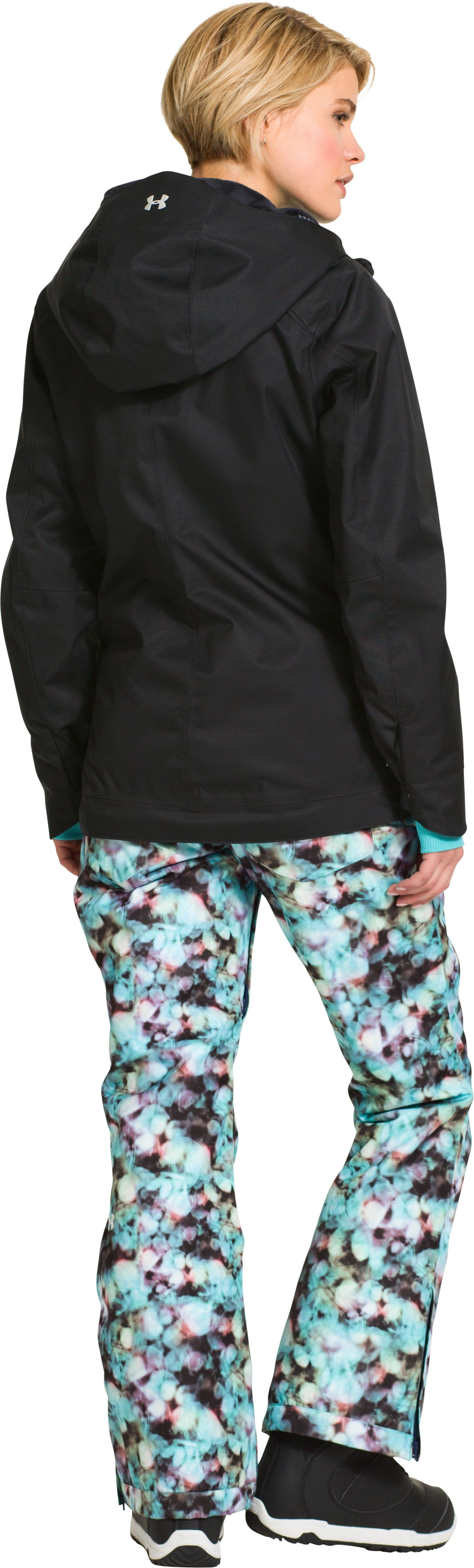 Women's UA ColdGear® Infrared Hierarch Jacket, Black , Back
