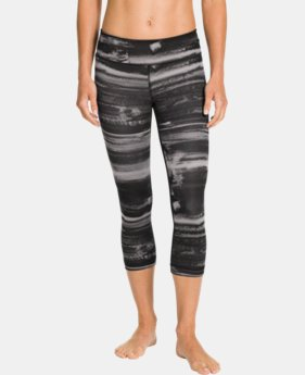 Women's UA Perfect Tight Printed Capri