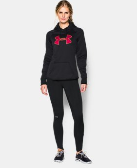 Women's UA Storm Armour® Fleece Big Logo Hoodie  1 Color $35.99 to $44.99