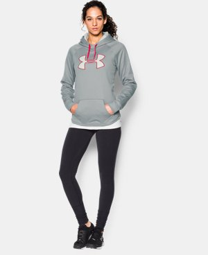 Women's UA Storm Armour® Fleece Big Logo Hoodie LIMITED TIME: FREE U.S. SHIPPING 1 Color $41.99 to $44.99