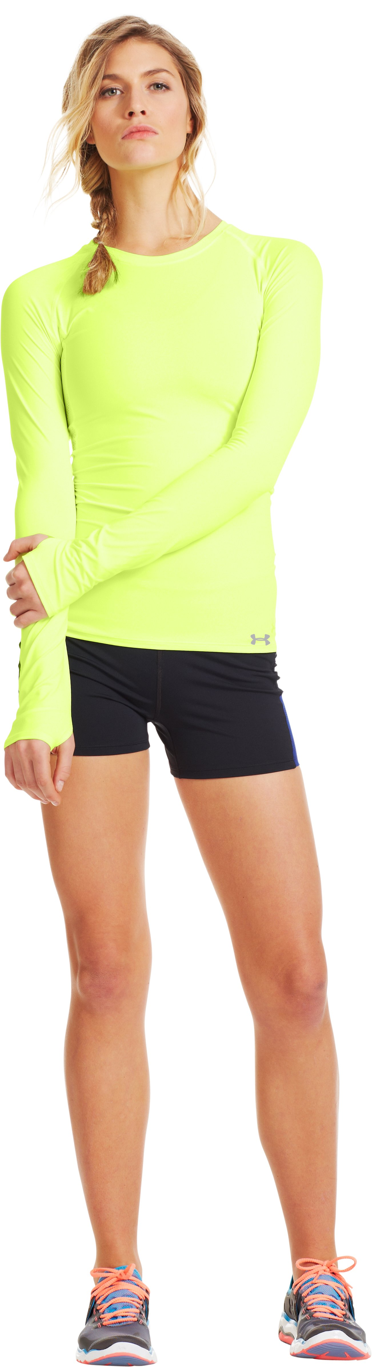 Women's UA ArmourVent™ Long Sleeve, X-Ray, Front