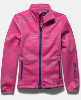 Girls' UA ColdGear® Infrared Softershell Jacket