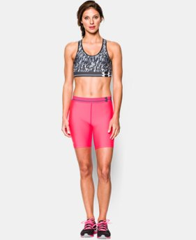 Women's UA HeatGear® Armour Printed Sports Bra  1 Color $15.74