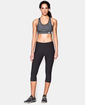 Women's Armour® Mid Printed Sports Bra LIMITED TIME: FREE U.S. SHIPPING 1 Color $34.99