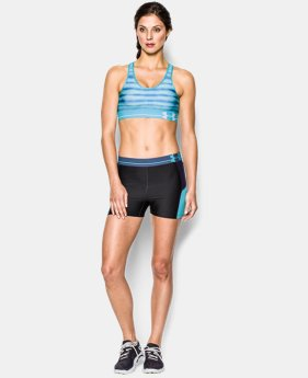 Women's Armour® Mid Printed Sports Bra LIMITED TIME: FREE U.S. SHIPPING 3 Colors $13.49 to $17.24