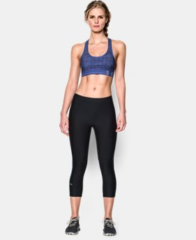 Women's Armour® Mid Printed Sports Bra
