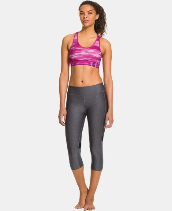 Women's Armour® Mid Printed Sports Bra LIMITED TIME: FREE U.S. SHIPPING 4 Colors $13.49 to $34.99