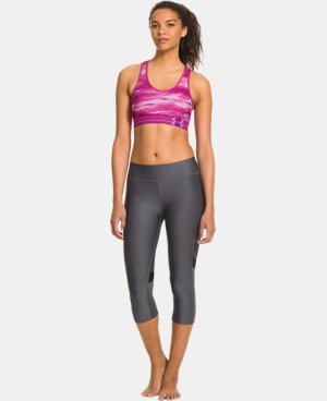 Women's Armour® Mid Printed Sports Bra LIMITED TIME: FREE U.S. SHIPPING 2 Colors $13.49 to $22.99