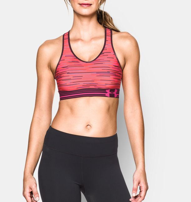 e320620a42ee1 Women s Armour® Mid Printed Sports Bra
