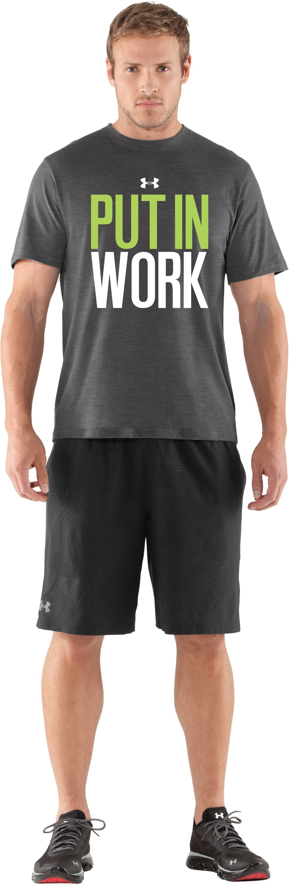 Men's UA Put In Work T-Shirt, Carbon Heather
