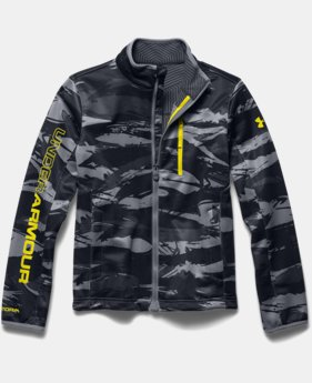Boys' UA Storm ColdGear® Infrared Softershell Jacket