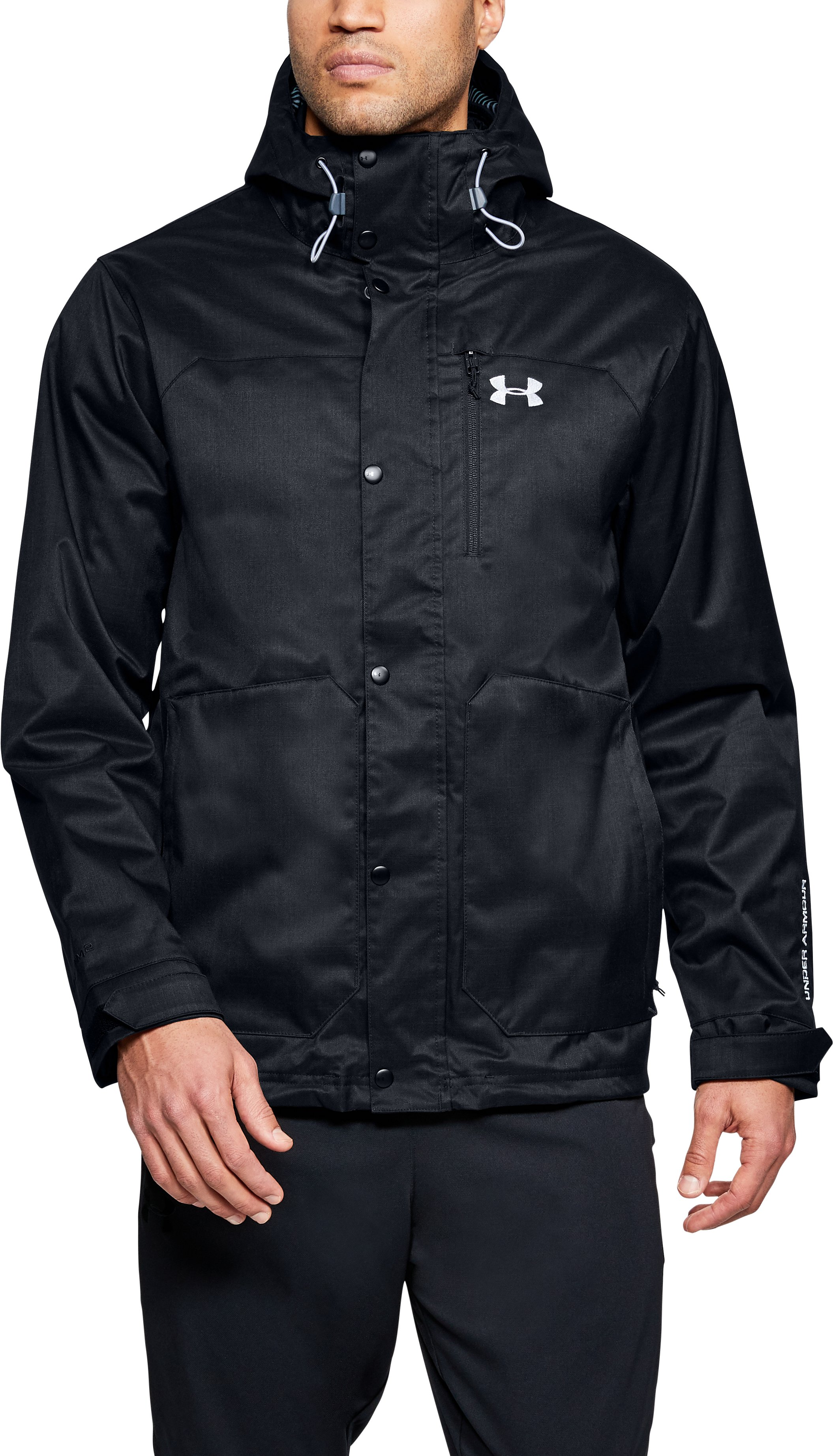 Men's UA Storm ColdGear® Infrared Porter 3-in-1 Jacket, Black , undefined