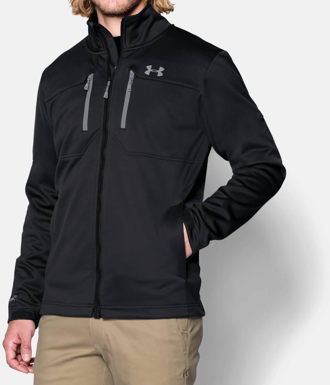 men 39 s ua storm coldgear infrared softershell jacket under armour ca. Black Bedroom Furniture Sets. Home Design Ideas