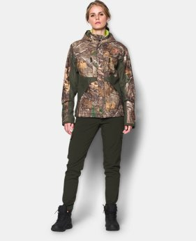 Women's UA Scent Control ColdGear® Infrared Gunpowder Jacket  1 Color $157.49