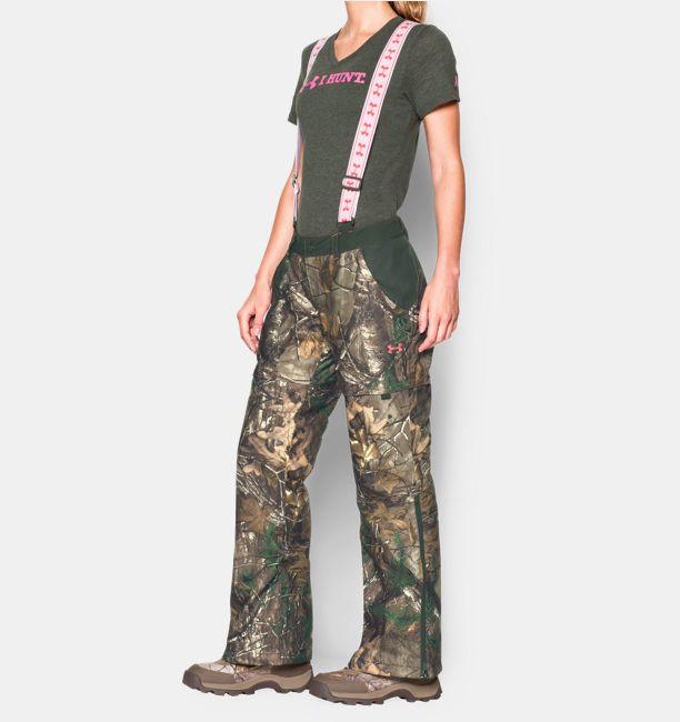 783524e60909 Women s UA Scent Control ColdGear® Infrared Gunpowder Pants