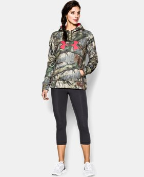 Women's UA Big Logo Camo Hoodie  3 Colors $44.99