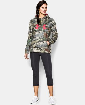 Women's UA Big Logo Camo Hoodie LIMITED TIME: FREE U.S. SHIPPING 2 Colors $42.74