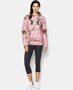 Women's UA Big Logo Camo Hoodie LIMITED TIME: FREE U.S. SHIPPING 1 Color $42.74